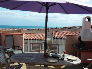 Mediterranean Beach Villa: Seaview Terraces Garden, Saint-Pierre-la-Mer