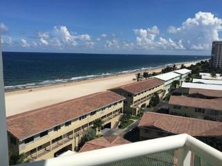 2/2 ON THE BEACH! w/ Fabulous Ocean View in LBTS, Lauderdale by the Sea