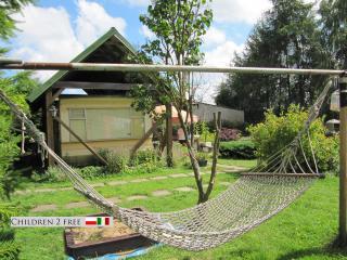 casa mobile  ampio giardino privato  ingresso auto, provincia della Pomerania