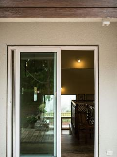 Entrance from dining to verandah