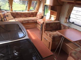 4 berth touring caravan, Saundersfoot
