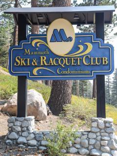 Mammoth Ski & Racquet #126 - Mammoth Ski & Racquet Welcome Sign