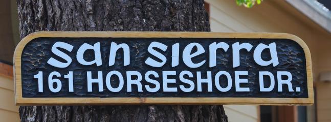 San Sierra #16 - San Sierra welcome sign