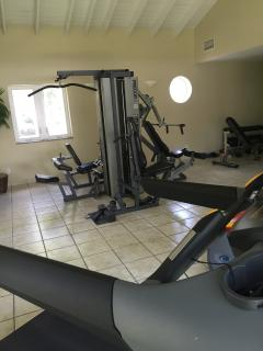 On site gym