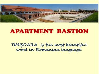 Cover - Logo Apartment Bastion