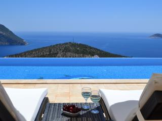 Stylish villa with the best view in Kalkan