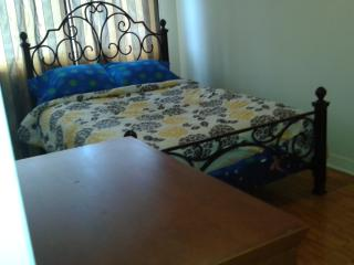 Double bed, Front room at saint-michel/ahuntsic, Montreal