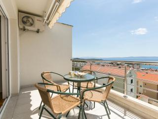Apartment with great sea view for 4 persons!!, Makarska