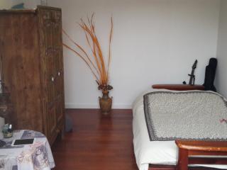 Chambre double avec terrasse privee