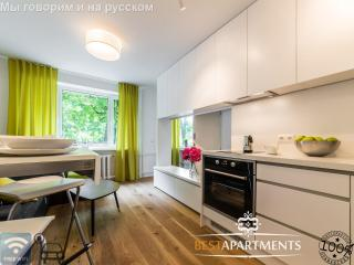NEW design one bedroom apartment for 4, Tallin