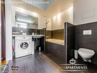 1 bedroom Tallinn design apartment with bathtub