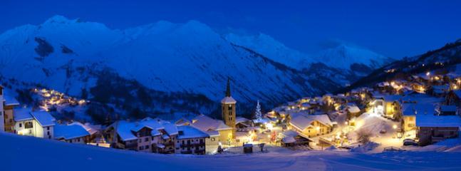 Alpine village of St Martin de Belleville