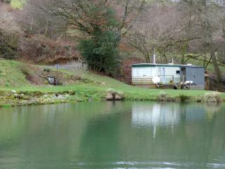 Static Caravan in an idyllic rural location.