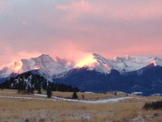 Get up, get up... don't miss the sunrise hitting the Sangres!