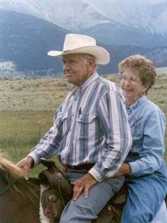 Bill and Dorothy Parker... the ones who blessed our family with this beautiful ranch!