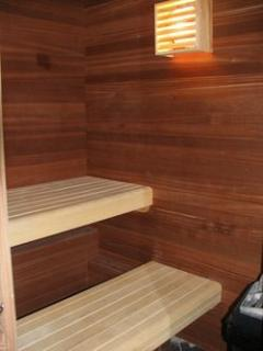 Sauna for a cold day