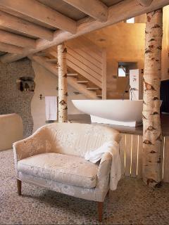 Cottage La maison Blanche Salon de Bain