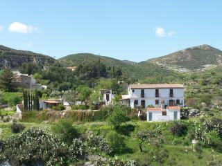 Detached cottage on 2 acre finca near village, Lubrín