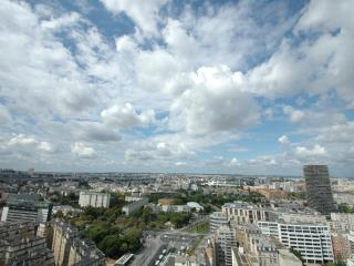 Spacious family flat with Paris panoramic view