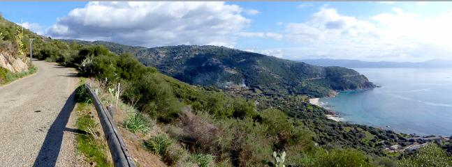 Route de Cargèse à Paomia
