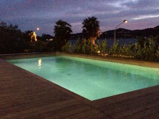 Appartamento vista lago con piscina, Ranco
