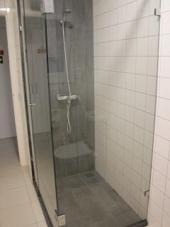 Zona de Chuveiro | Shower area