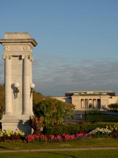 City Park entrance from Carrollton / Esplanade Avenue to the magnificent New Orleans Museum of Art