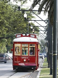 Canal streetcar lines are just 6 blocks away from the house and provide access to many areas