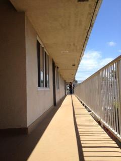 the walkway to your temporary slice of heaven ;)