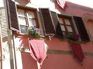 Particolare delle finestre