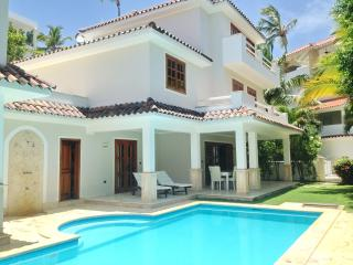 Fabulous Beach Villa 3bdr Private pool, Bavaro