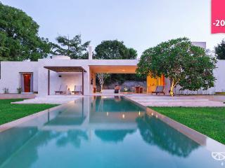 Stunning modern home base for Yucatan exploration., Acanceh