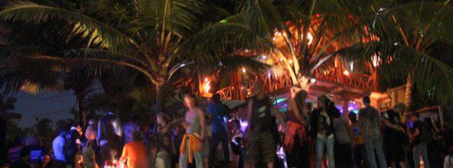 Beach Parties at the beach near by on weekdays