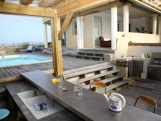 grande villa avec piscine chauffée vue ocean, Seignosse