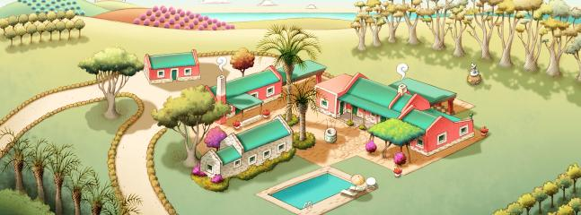 Meet the whole Villa and its houses!!!!