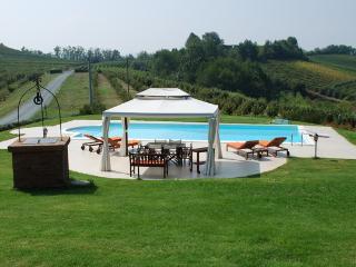 villa & pool in UNESCO's Monferrato, Mombaruzzo