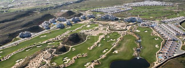 Over View of the Golf Course and resort