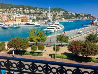 Large port and sea view in Nice Rauba Capeu