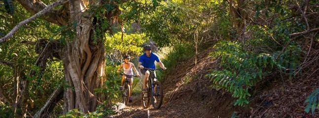 Great mountain bike trails for beginners and experts . A superb centre!
