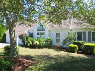 Lovely shaded areas on the property to keep you cool. - 151 Sky Way Chatham Cape Cod New England Vacation Rentals