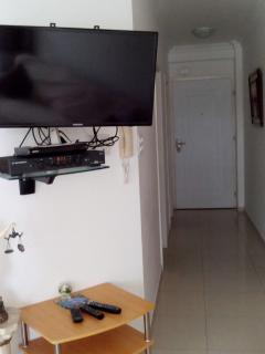 TV Hallway and front door