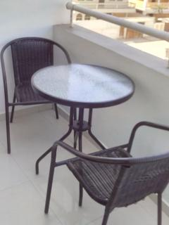Balcony - Table and chairs