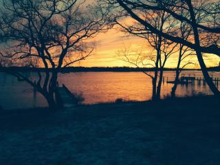 Sag Harbor with water views & perfect sunsets