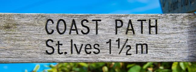 Walk the coastal path into St. Ives