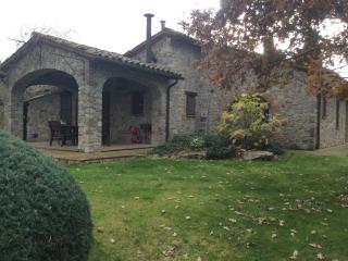Casale Silvia 12 trattasi di un casale in pietra con camino ,barbecue ,piscina,