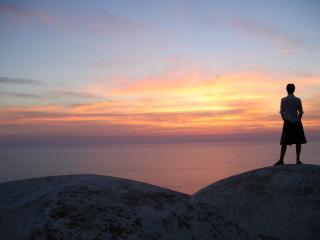 Dammuso sulla scogliera, Pantelleria