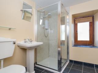 Refurbished shower room with under floor heating