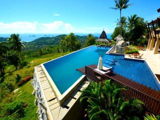 6 Bedroomed, serviced,  Seaview  Villa & Spa in Koh Samui