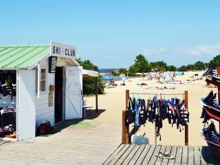 Mobil-home 3 ch climatise village club de vacances siblu 4* proche Biscarrosse