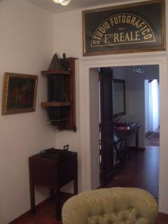 Detail of the living room
